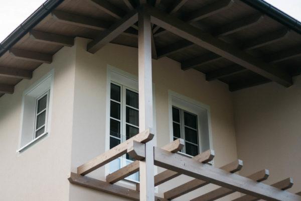 Holzmassivhaus